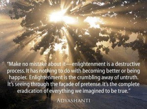 A quote from Adyashanti